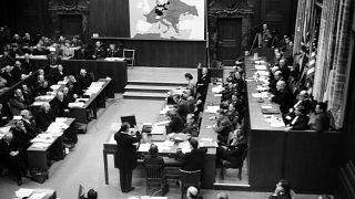 محاكمة النازيين في نورمبرغ