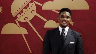 اللاعب الكاميروني صامويل إيتو