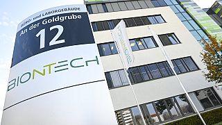 Alman BioNTech firmasının Mainz şehrindeki genel merkezi.