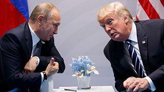 عکس آرشیوی از دیدار پوتین و ترامپ