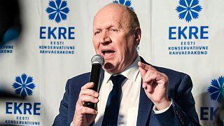 وزير داخلية إستونيا المستقيل مارت هيلمي