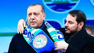 برات البیرک و رجب طیب اردوغان