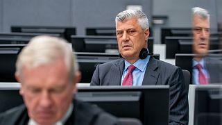Eski Kosova Cumhurbaşkanı Haşim Taçi, Lahey'deki özel mahkemede ilk kez hakim karşısına çıktı
