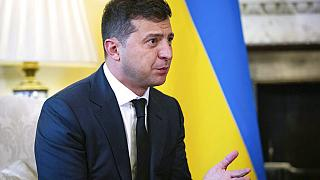 Ukraine President Volodymyr Zelensky has tested positive for COVID-19.