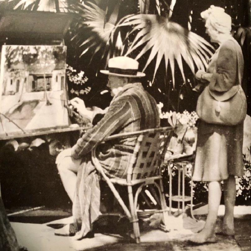 Winston & Clementine Churchill