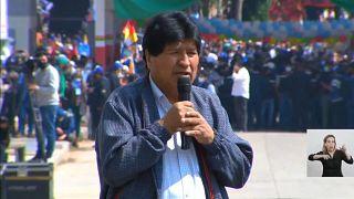 Evo Morales regresa a Bolivia tras un año de exilio en Argentina