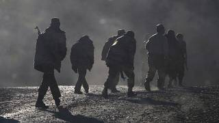 Армянские военные в Нагорном Карабахе 8 ноября 2020