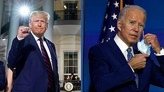 Donald Trump e Joe Biden tem duas formas distintas de enfrentar a Covid-19