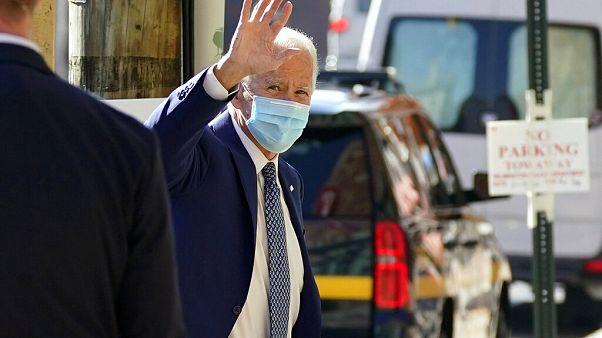 Joe Biden in Wilmington