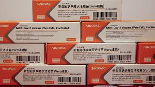 Doses da vacina CoronaVac