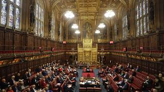 İngiltere'de Lordlar Kamarası