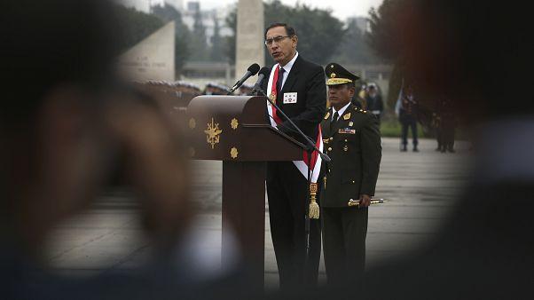 Peru's President Martin Vizcarra, Sept. 21, 2018