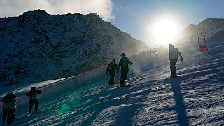 Época de esqui em risco