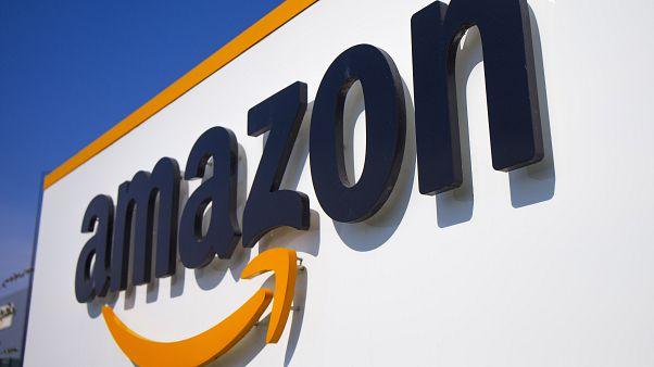 Photo d'illustration : un entrepôt d'Amazon à Douai, dans le nord de la France, le 16 avril 2020
