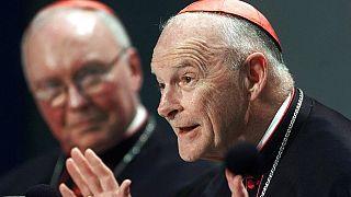 ex-Cardinal Theodore McCarrick, 2002.