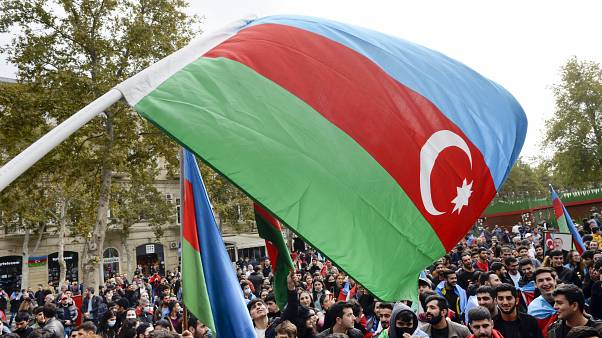 Hatalmas örömünnep Azerbajdzsánban az aláírt békemegállapodás után