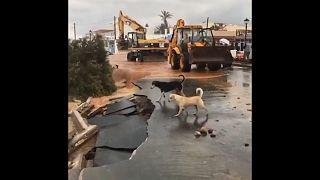 Κυβερνητικό κλίμάκιο στην Κρήτη για να αποτιμήσει τις ζημιές της κακοκαιρίας