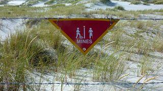 Falkland Adaları mayınlardan temizleniyor / Arşiv