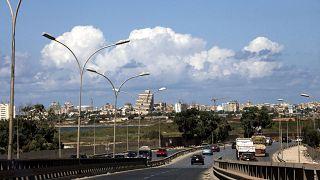 منظر عام لمدينة بنغازي، ليبيا.
