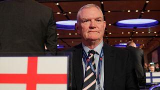 İngiltere Futbol Federasyonu Başkanı Greg Clarke