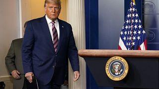 Der scheidende US-Präsident Donald Trump