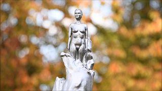 Statue auf dem Parliament Square