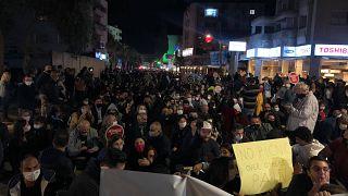 Κατεχόμενη Λευκωσία διαμαρτυρία