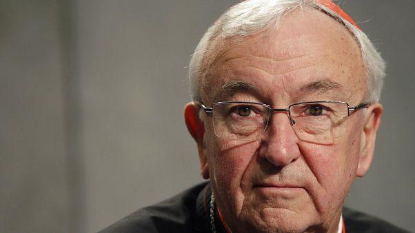 Vincent Nichols westminsteri érsek, az angol-walesi katolikus egyház vezetője