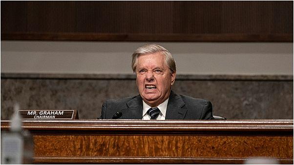 ليندسي غراهام العضو في مجلس الشيوخ عن الحزب الجمهوري