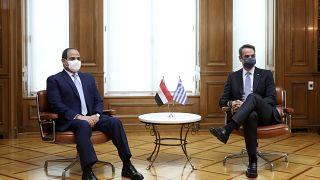Στο Μέγαρο Μαξίμου ο Πρόεδρος της Αιγύπτου