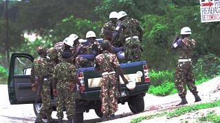 Militärpolizei in Mosambik (ARCHIV)