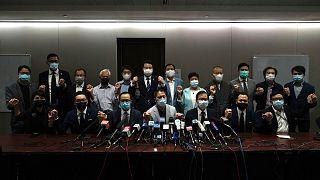 استعفای دسته جمعی نمایندگان دموکراسیخواه مجلس محلی هنگ کنگ