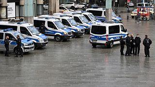 الشرطة الألمانية- صورة توضيحية