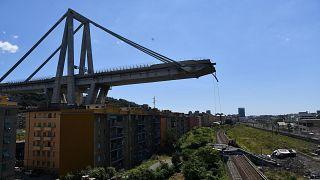 43 people were killed when the Morandi bridge collapse in Genoa in August 2018.
