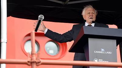 Activists want to see David Attenborough put his Instagram account to good use.