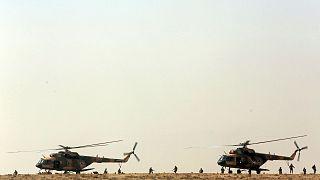 هلیکوپترهای ارتش افغانستان