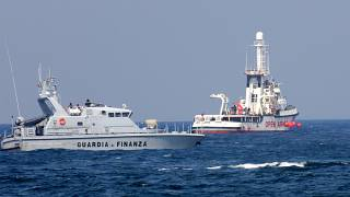 Open Arms rescue ship saves scores in the Mediterranean