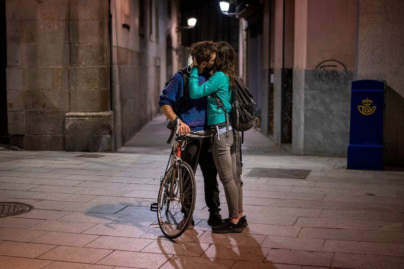 Emilio Morenatti/AP PHOTO