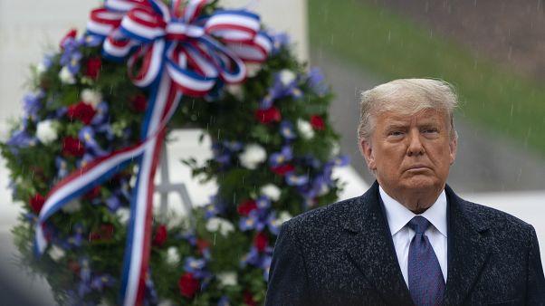 Donald Trump először szerepelt nyilvánosan a választási veresége óta