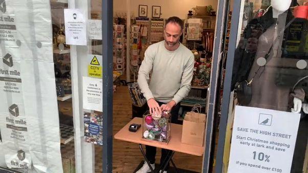Pas de cadeaux pour le Noël des petits commerçants britanniques
