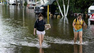 """""""Eta"""", la tempesta tropicale che ha devastato America Centrale e Florida"""