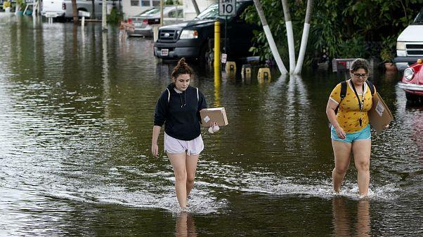 Tovább tombol az Eta hurrikán Floridában