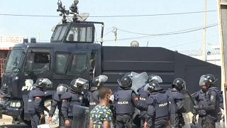 Angola police breaks up anti-government demonstration
