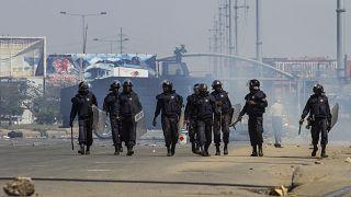 Des manifestations réprimées à Luanda