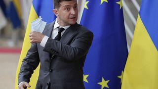 Ukrainischer Präsident wegen Corona-Infektion im Krankenhaus