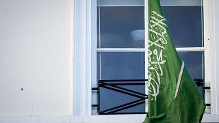 أمام مقر السفارة السعودية في لاهاي - هولندا
