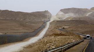 الحدود الإسرائيلية مع مصر- صحراء سيناء- صورة توضيحية
