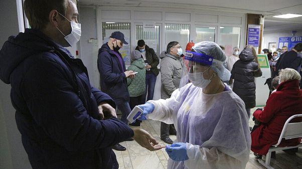Hospitais europeus colocados à prova