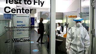 Lufthansa тестирует пассажиров
