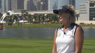 Эми Боулден о любви к гольфу, Ближнему Востоку и о борьбе за гендерное равенство